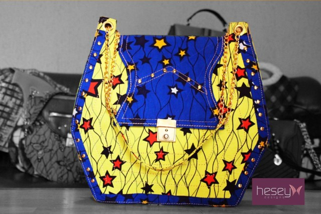 hesey design ankara bags
