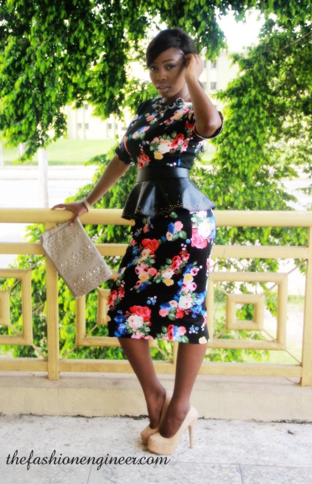 the fashion engineer asos floral print dress (2)