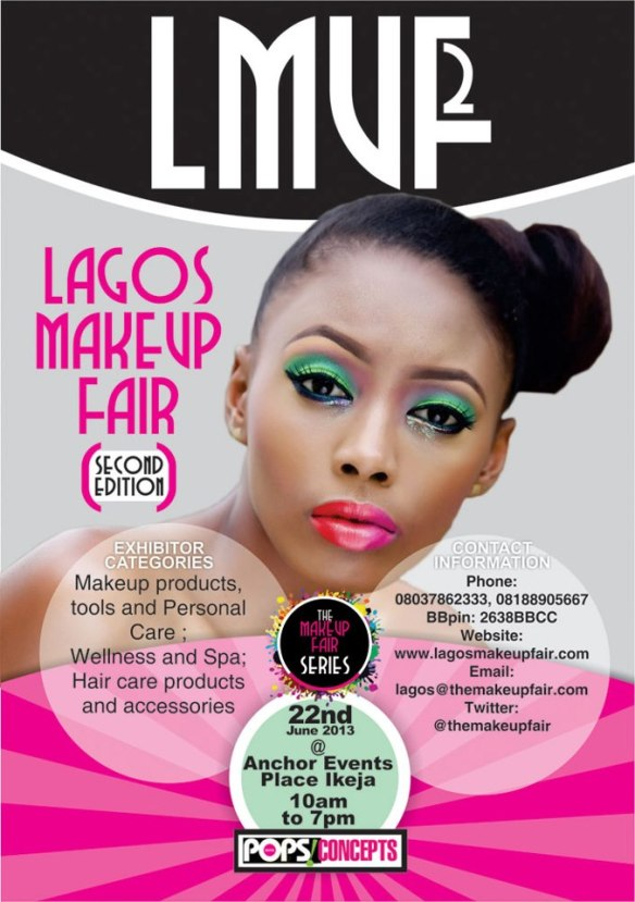 lagos makeup fair